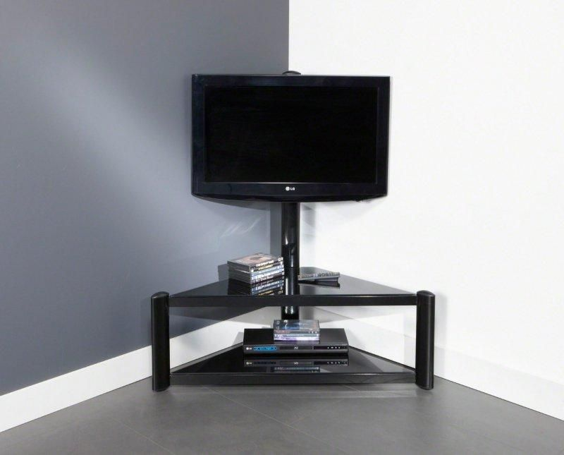 Good meuble tv angle design salon 9 meuble tv blanc for Meuble d angle pour salon