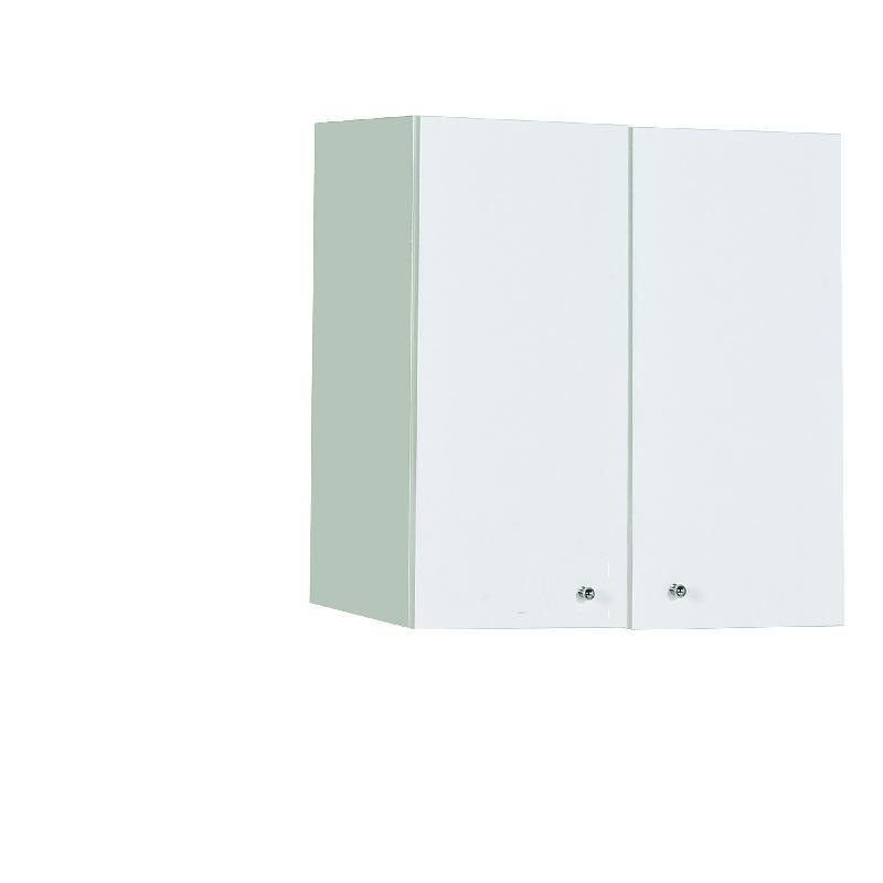 Meuble haut 2 portes m kit comparer les prix de meuble for Meuble haut une porte