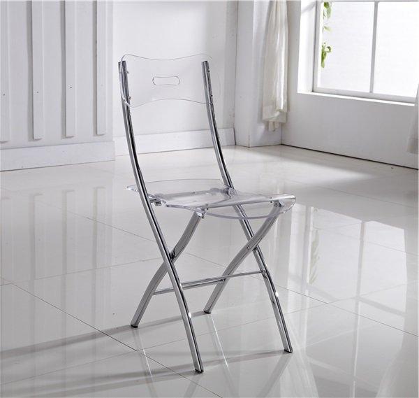 2 Chaises En De Widow Transparent Pliantes Plexiglas Lot wmOvN8n0