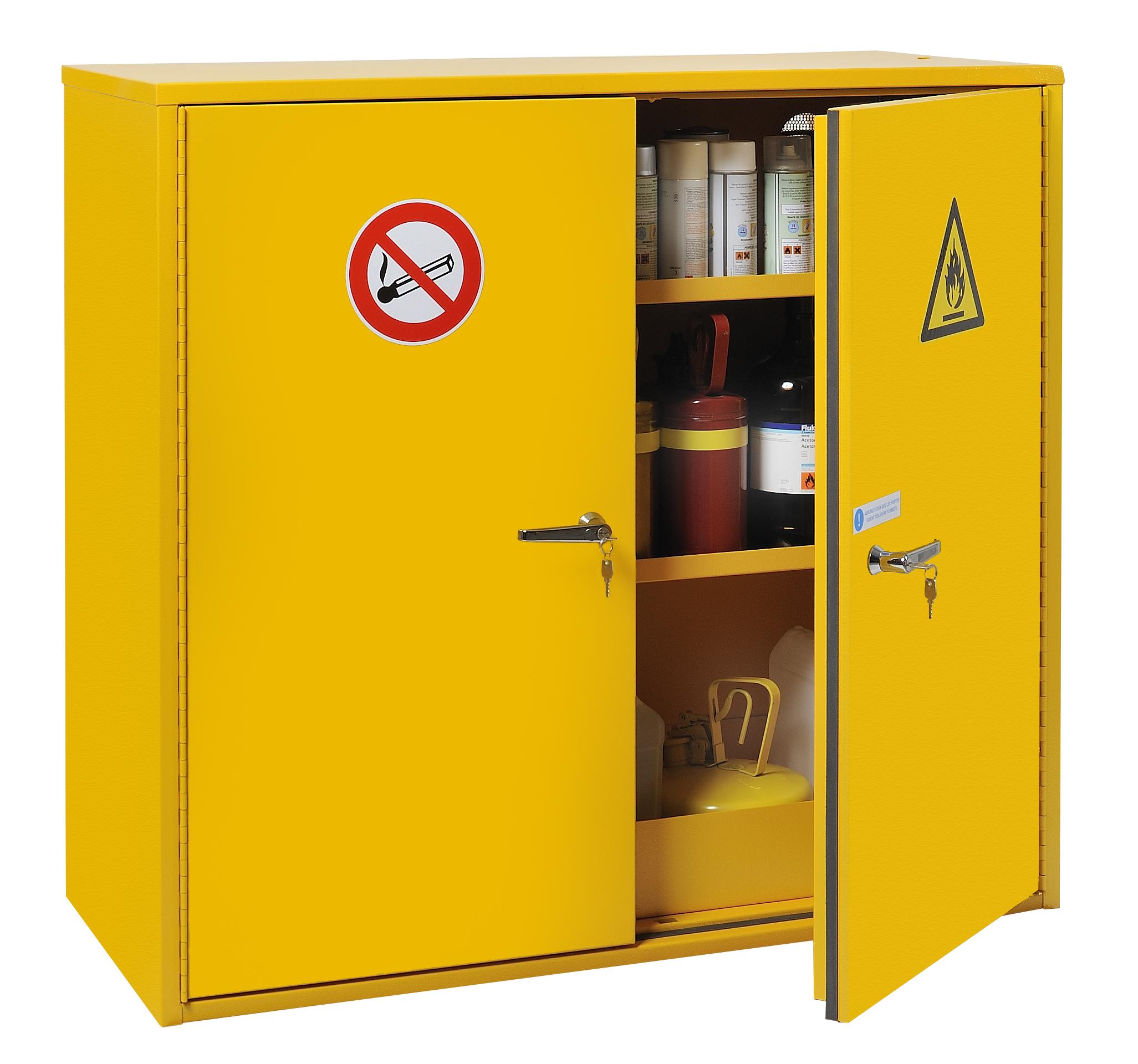 armoires de securite pour produits inflammables tous les. Black Bedroom Furniture Sets. Home Design Ideas