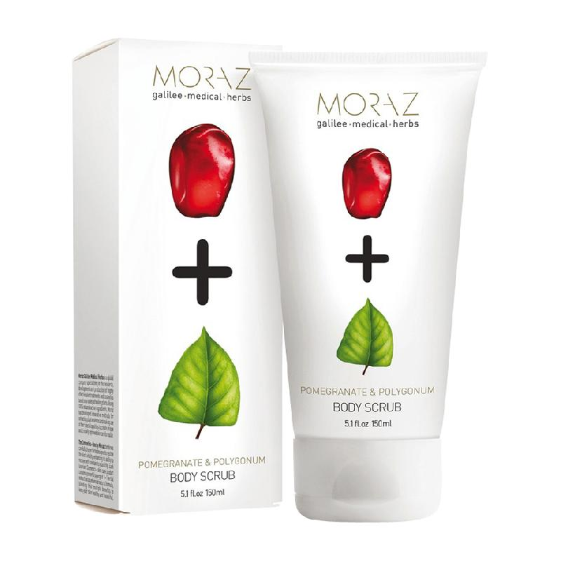 GOMMAGE CORPOREL MORAZ-TUBE DE 150 ML