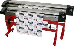 Machines de découpe d'imprimerie