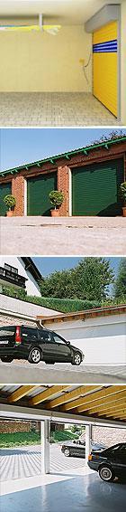 Portes de garage a enroulement resident - Porte garage a enroulement ...
