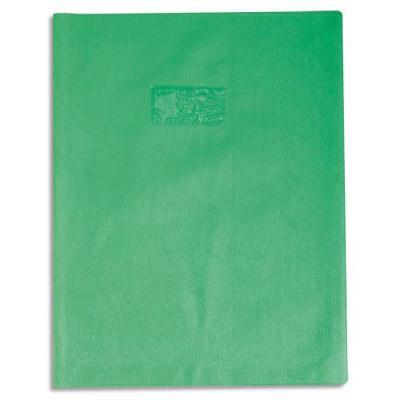Prot ge cahier calligraphe pvc opaque grain cuir 20 - Protege cahier avec rabat ...