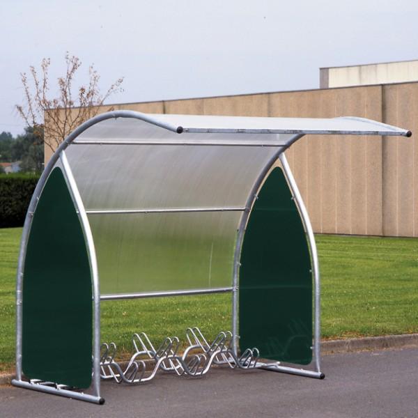 Abri à vélos extensible pour 6 vélos - motos - scooters elément de depart