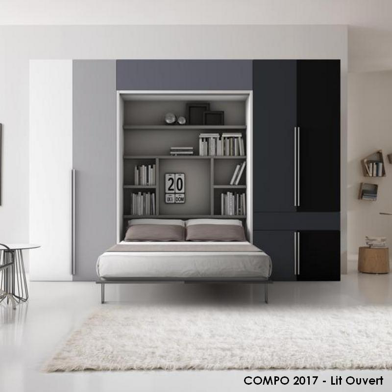 lits escamotables relevable simple compo duebi. Black Bedroom Furniture Sets. Home Design Ideas