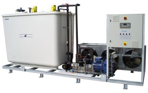 Refroidisseur d'eau glacée - agd 750 p - sorema