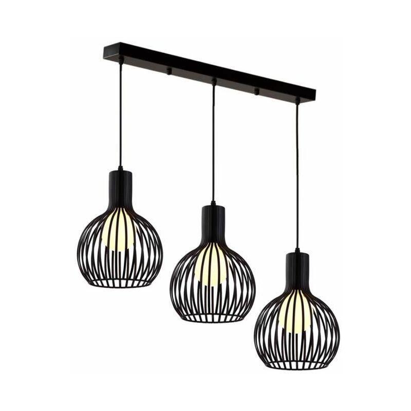 Suspension Industrielle Vintage Lampe Lustre Abat Jour Ajustable Diy