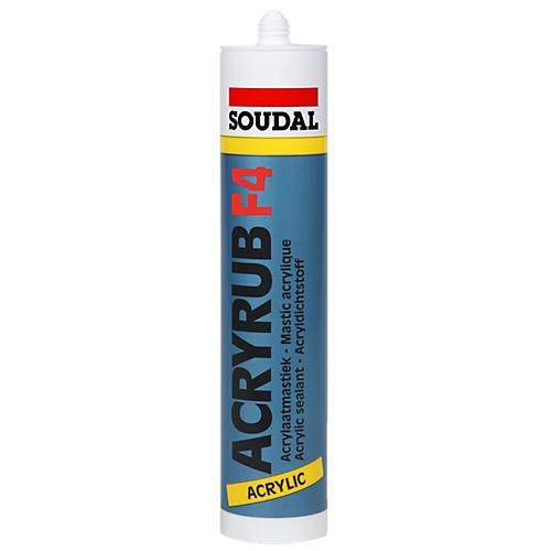 mastic acrylique acryrub f4 soudal comparer les prix de mastic acrylique acryrub f4 soudal sur. Black Bedroom Furniture Sets. Home Design Ideas