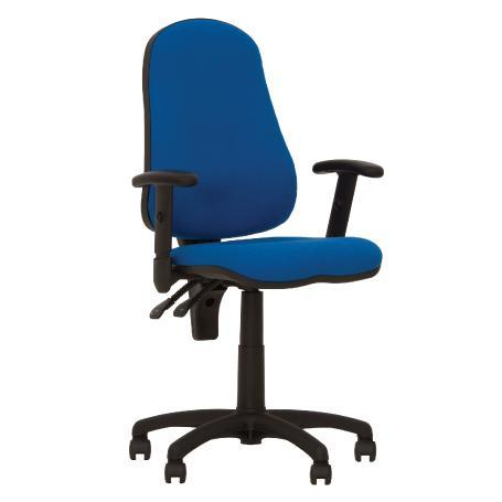 Offix gtr fauteuil de bureau synchrone, ergonomique bleu
