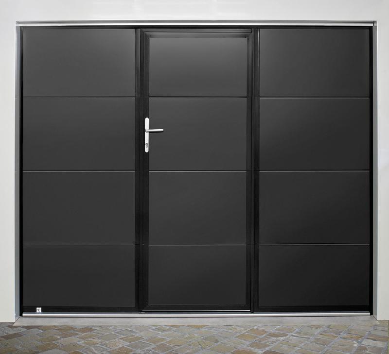 Portes de garage techpro a portillon for Prix porte de garage techpro