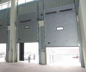 Portes Sectionnelles Industrielles Tous Les Fournisseurs Porte - Porte de garage sectionnelle avec porte de service pvc occasion