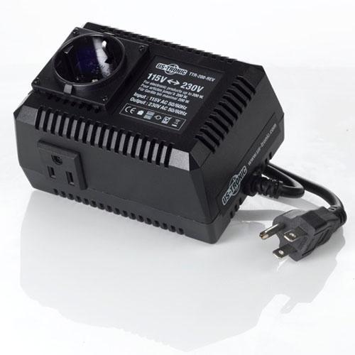 Transformateur 110v 220v r versible puissance nominale for Transformateur 220 110 darty