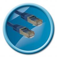 Cable rj45 m/m stp cat. 5e droit 10m référence : 429523