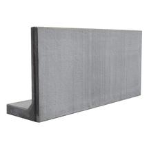 Mur de soutenement en l lx100 100x60 longueur 2m