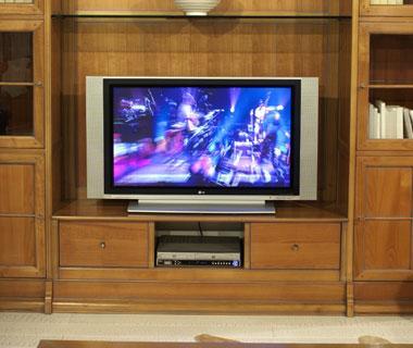 Photos meuble tele page 1 for Meuble porte tele