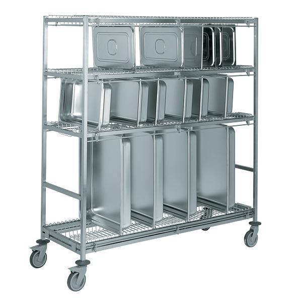 Tournus equipement produits chariots manuels a caisse et bac for Bacs inox restauration
