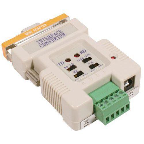 CONVERT. BOUCLE DE COURRANT RS-232 AVEC CORDON ALIM. USB