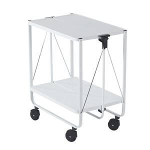 Side car 60 x 40 x 10 cm acier leifheit blanc for Leifheit 59101 chariot de nettoyage professionnel
