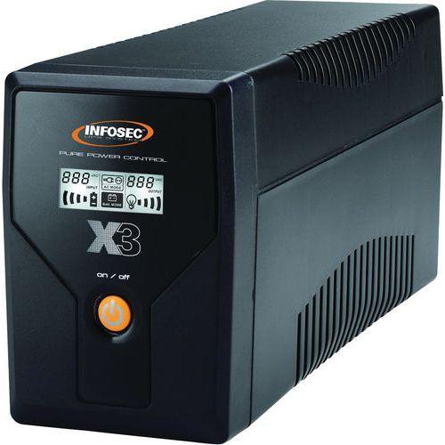 ONDULEUR X3 EX INFOSEC 1000 VA