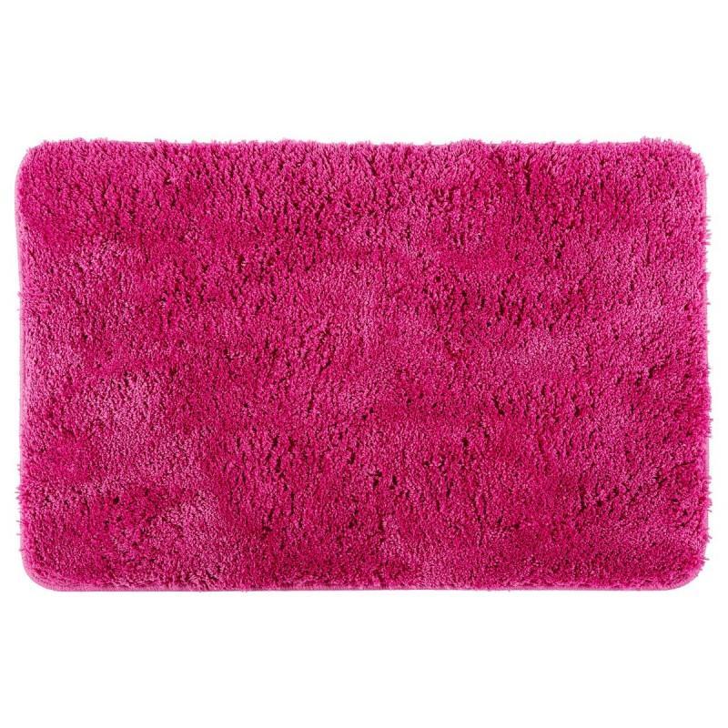 Tapis microfibre salle de bain 60x90cm rose fushia - paris prix