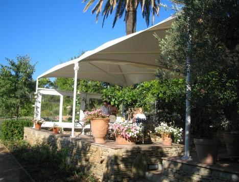 Couverture terrasse restaurant
