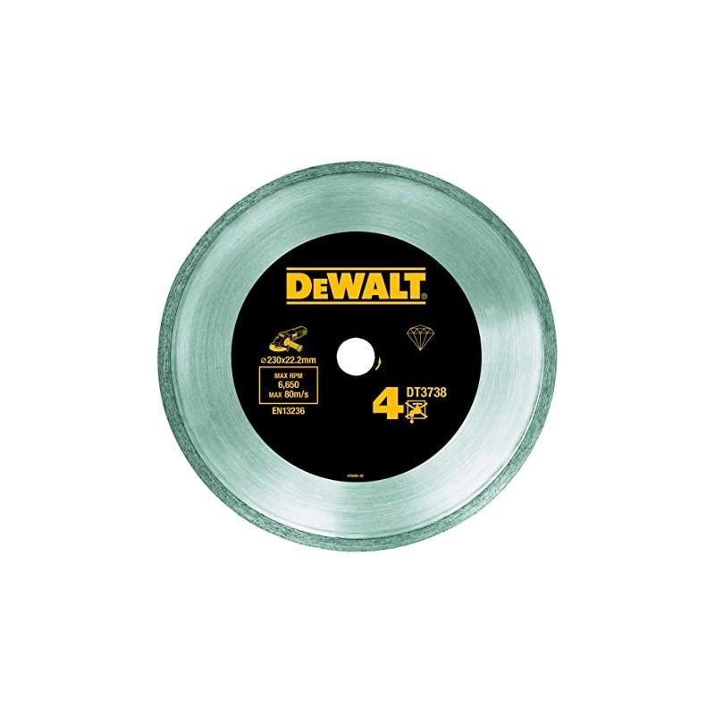 Dewalt dt3738-xj disque fritté pour le carrelage 230x22.2mm, hauteur segment 7mm 22.2