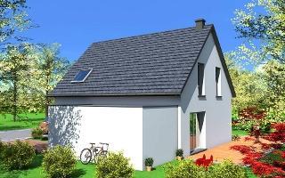 habitations completes maison a etage debby. Black Bedroom Furniture Sets. Home Design Ideas