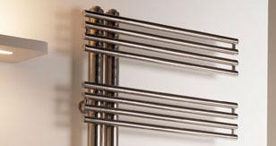 radiateur de decoration kelly inox poli seche linge. Black Bedroom Furniture Sets. Home Design Ideas