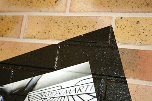 Vinyle coulé adhésif de décoration murale vcxr100wg1