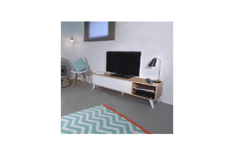 Meuble tv scandinave arrondi - Meuble tv design arrondi ...