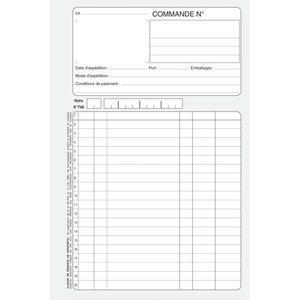 Carnet de facture tous les fournisseurs carnet a for Devis elagage