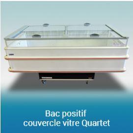 BAC POSITIF AVEC COUVERCLE QUARTET 1,50M / 2M