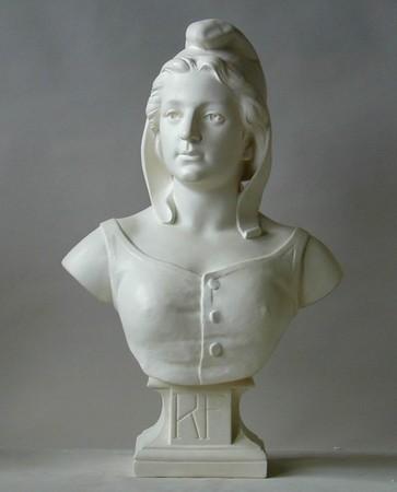 buste de marianne celebre modele dubois ref. Black Bedroom Furniture Sets. Home Design Ideas