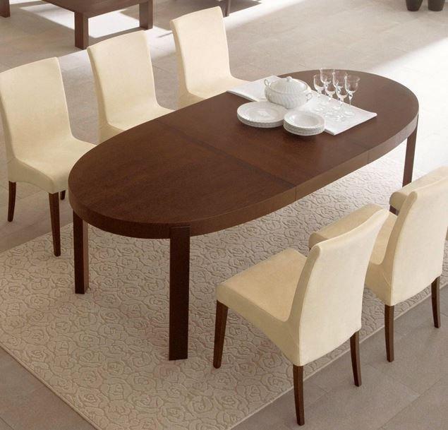 Repas Atelier Table Ovale Wengé 170x100 Calligaris Extensible shQdtrC