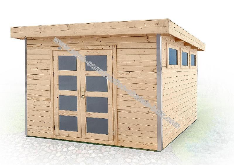 Cabanes en bois abri de jardin alisier 9 m²