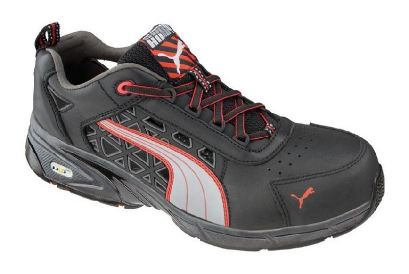 chaussures de securite puma fuse motion s1p hro sra red