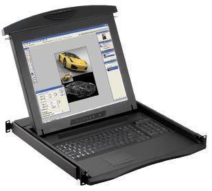 N117/N119 - TIROIR CONSOLE LCD 17 OU 19  VGA 1280 X 1024 RACKABLE
