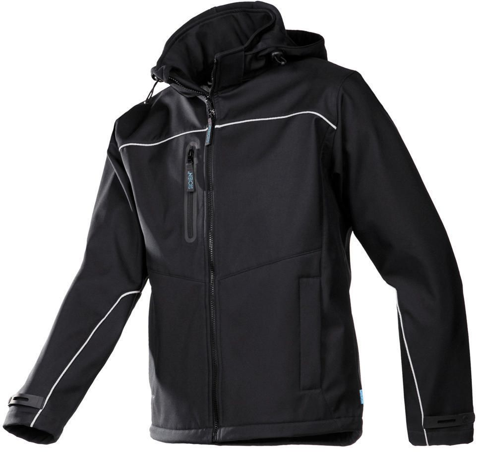 SIOE SOFTSHELL VESTE HOMES 9934 NOIR L