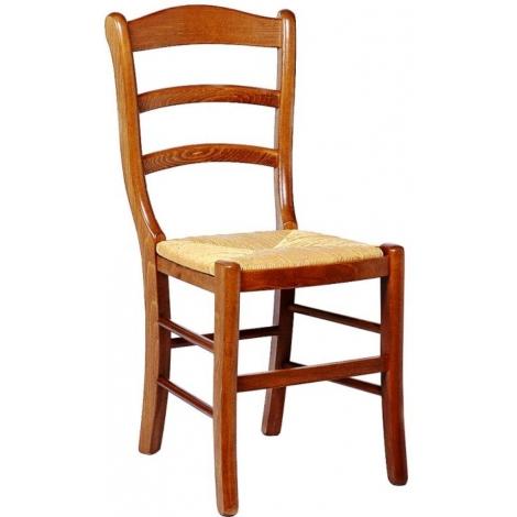 Chaise de salle a manger en bois et paille valaisanne48 for Chaise de salle a manger en bois