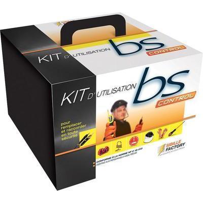 KIT HABILITATION BS SIBILLE FACTORY BS18510 10 AVEC GANTS ISOLANTS TAILLE 10 (XL)