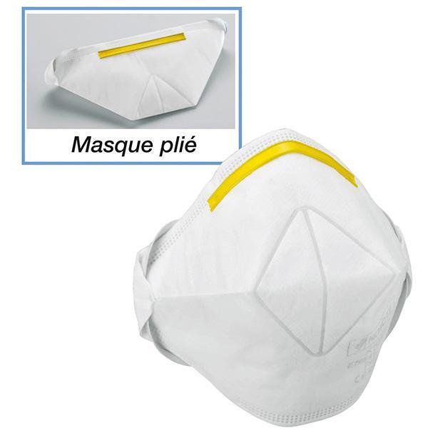 MASQUE ANTIPOUSSIÈRE ÉCONOMIQUE FFP1
