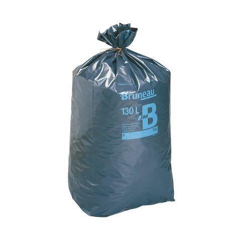 sac poubelle gris bruneau premium 130 litres colis de 200 bruneau comparer les prix de sac. Black Bedroom Furniture Sets. Home Design Ideas