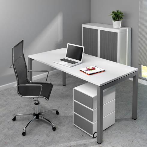 bureau droit arko pi tement m tal comparer les prix de bureau droit arko pi tement m tal sur. Black Bedroom Furniture Sets. Home Design Ideas