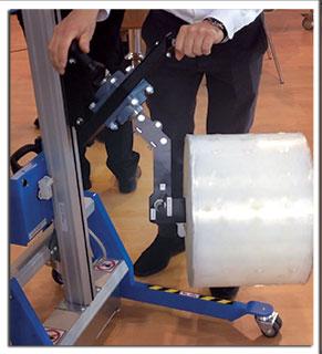 Manipulateur de bobines manuel tec move expand & turn d'ingenitec