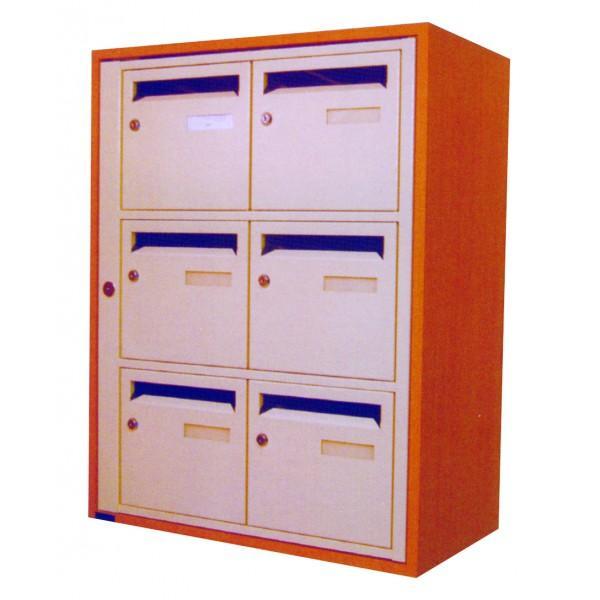 boites aux lettres mixte modele pannopro. Black Bedroom Furniture Sets. Home Design Ideas