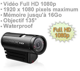 Caméra contourhd enregistreur audio vidéo full hd 1920 x 1080 sur carte sdhc