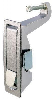Loquet a compression affleurant, a serrage par levier reglable - saillant - chrome (19-58)