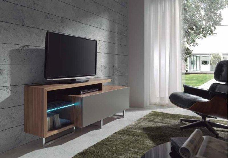 meuble tv forest noyer. Black Bedroom Furniture Sets. Home Design Ideas