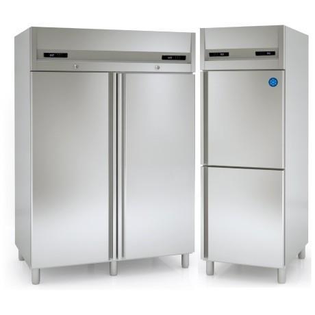 Armoire refrigeree inox bi temperatures for Frigo professionnel restauration